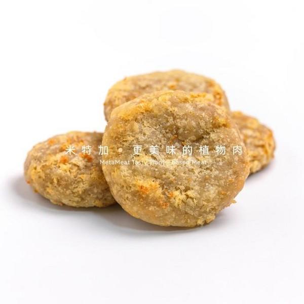 植物鸡块Plant-based chicken nuggets
