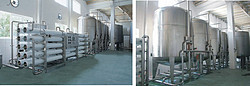 高浓稀释和酿造水处理设备