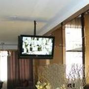 酒店大堂电视