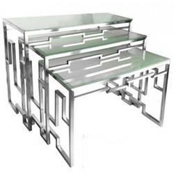 不锈钢 套插式茶歇台