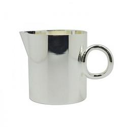 幸运金银器-镀银Q形奶壶